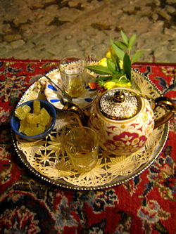 Tea and Tray - Bazaar of Omar Khayyam - Night - Nishapur 2.JPG