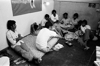 Mood Indigo (festival) - The Core Group Members of Mood Indigo 1976 (with Nandan Nilekani)