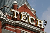 Georgia Tech, the venue and technological centerpiece of the New South.