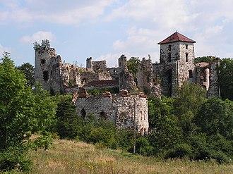 Tęczyński - Ruins of Tęczyn Castle in Rudno