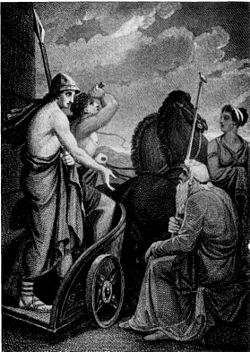 Telemachus departing from Nestor - Henry Howard - Project Gutenberg eText 13725.jpg