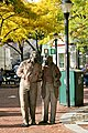 Ten Figures statues in Davis Square (3), October 2009.jpg