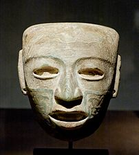 Teotihuacan mask Louvre MH 78-1-187