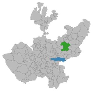 Tepatitlán City in Jalisco, Mexico