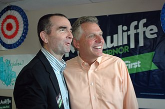 Ralph Northam - Northam ran for lieutenant governor as Terry McAuliffe's running mate.