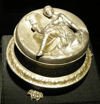 Morgantina treasure - Pyxis with Eirene