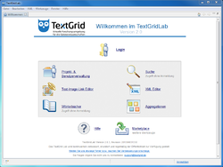 TextGridLab 2.0.3 unter Windows 7