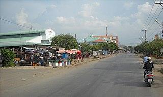 Càng Long District District in Mekong Delta, Vietnam