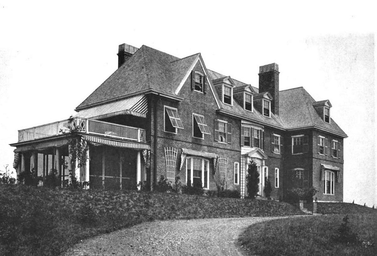The Rantoul house on Argilla Rd.