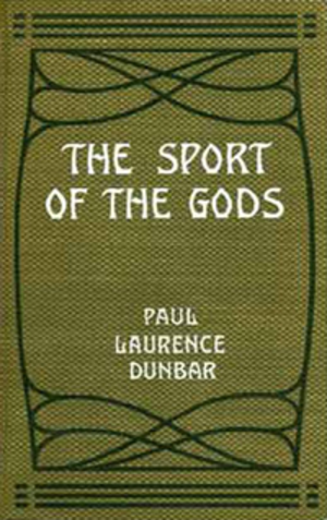 The Sport of the Gods - First edition book cover, 1902