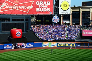 The 7 Line Army - The 7 Line Army attending a 2013 Mets game