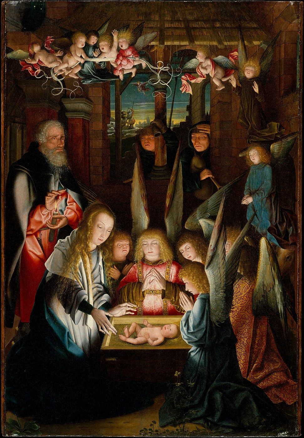 The Adoration of the Christ Child MET DT8852