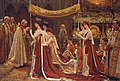 The Anointing of Queen Alexandra at the Coronation of Edward VII.JPG