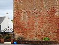 The Barr Castle, East Ayrshire - view of the 'hand ball' wall.jpg