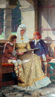 The Boyhood of Alfred the Great (1913).jpg