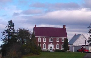 Chapman House (Nova Scotia) - The Chapman House in wintertime