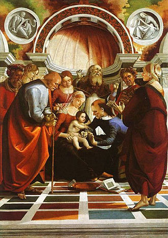 Feast of the Circumcision of Christ - The Circumcision by Luca Signorelli (16th century)