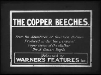 Fichier:The Copper Beeches (1912).webm