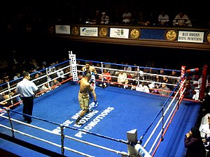 The Legendary Blue Horizon. A boxing venue in ...
