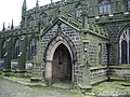 The Parish Church of Heptonstall, St Thomas a Becket and St Thomas the Apostle, Porch - geograph.org.uk - 1014618.jpg