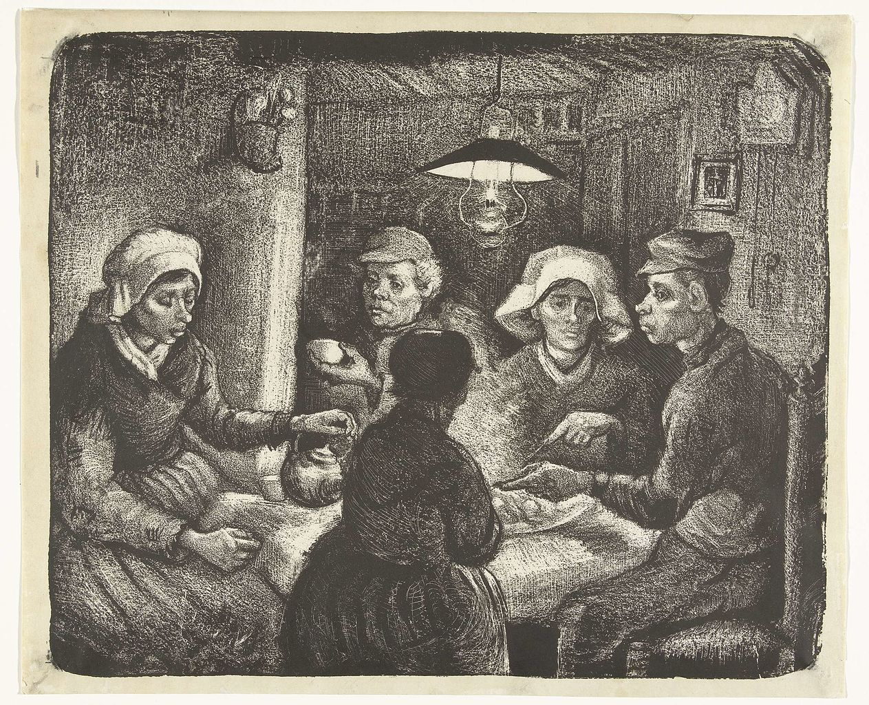 """analysis of the potato eaters by vincent van gogh essay Free essay: vincent van gogh's starry night and vincent's chair one of the most  famous  essay analysis of """"the potato eaters"""" by vincent van gogh."""