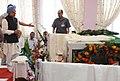 The Prime Minister, Dr. Manmohan Singh paying homage at the mortal remains of the former Chief Minister of Arunachal Pradesh, Shri Dorjee Khandu, in Itanagar, Arunachal Pradesh on May 06, 2011.jpg