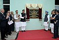 The Prime Minister, Dr. Manmohan Singh unveiling the plaque to inaugurate the Power Reactor Fuel Reprocessing Plant-2 at Tarapur, in Maharashtra on January 07, 2011.jpg