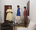 The Prime Minister, Shri Narendra Modi and the Prime Minister of Japan, Mr. Shinzo Abe at Sabarmati Ashram, in Ahmedabad, Gujarat on September 13, 2017 (1).jpg