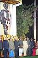 The Prime Minister Shri Atal Bihari Vajpayee unveiled the statue of Mahatma Jyotirao Phule at Parliament House in New Delhi on December 3.jpg