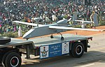 The Searcher MK-II (Unmanned Aerial Vehicle) passes through the Rajpath during the 58th Republic Day Parade - 2007, in New Delhi on January 26, 2007.jpg