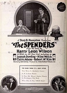 <i>The Spenders</i> 1921 film directed by Jack Conway