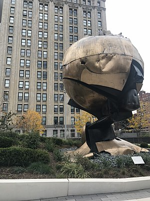 The Sphere - The Sphere in Liberty Park, November 2017