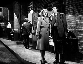 Lizabeth Scott en Van Heflin in The Strange Love of Martha Ivers