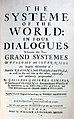 The Systeme of the World, in Four Dialogues, 1661.jpg