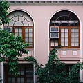The Windows of The University of Hong Kong Main Building.JPG