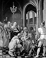 The circumcision of Christ. Oil painting after Hendrik Goltz Wellcome L0005695.jpg