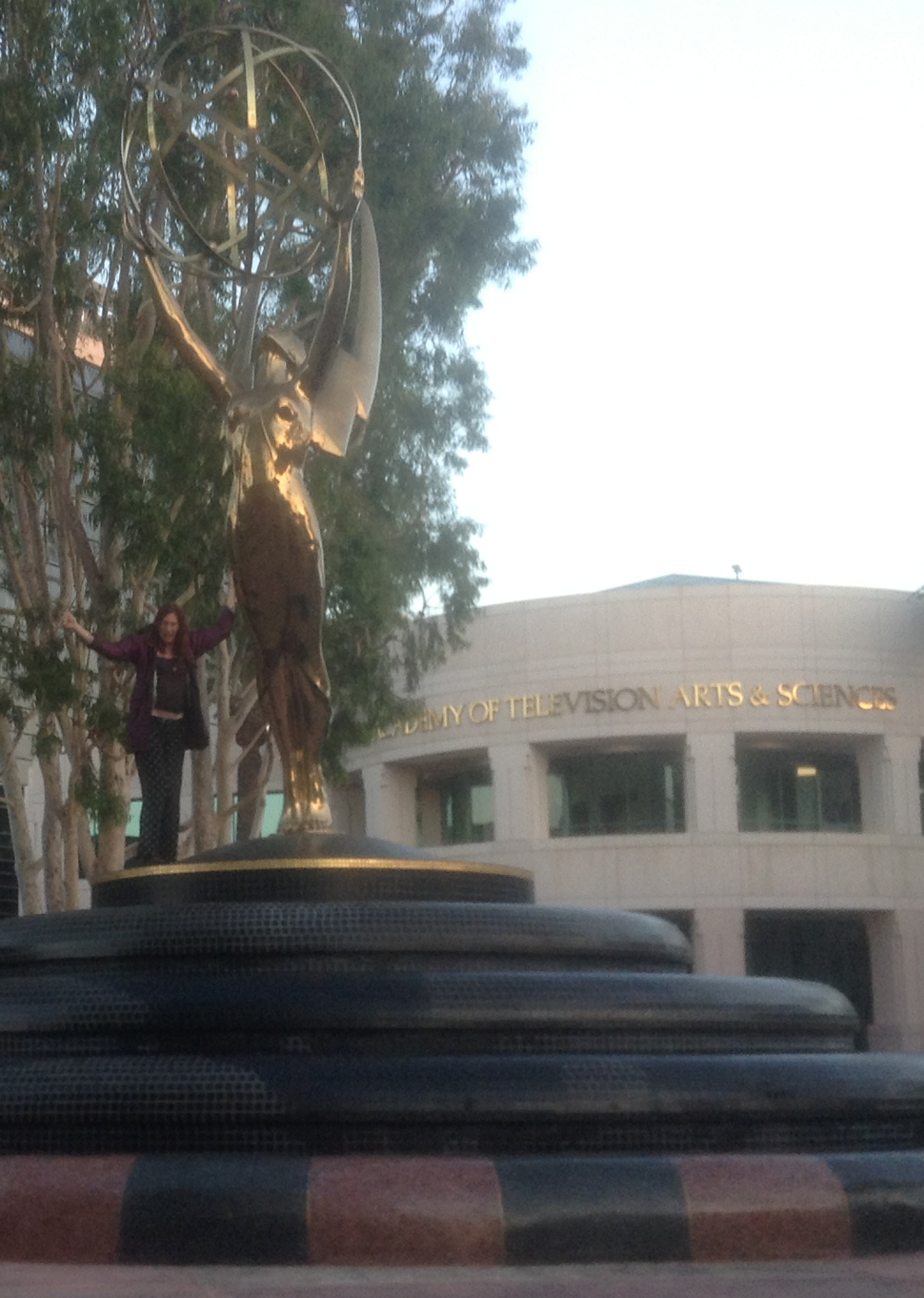 The courtyard -- Academy of Television Arts & Sciences