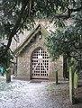 The entrance to Corhampton Church - geograph.org.uk - 1114991.jpg
