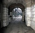 The entrance tunnel to the Nothe Fort - geograph.org.uk - 715692.jpg