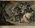 The fatal wounding of Sir Ralph Abercrombie at Alexandria, 1 Wellcome V0006881.jpg