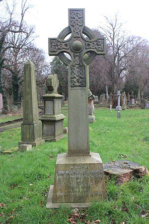 Alexander Buchan (meteorologist) - The grave of Alexander Buchan, Warriston Cemetery, Edinburgh