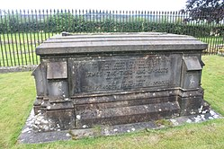 The grave of King James III and Queen Margaret, Cambuskenneth Abbey.jpg