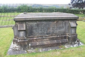 James III of Scotland - The grave of King James III and Queen Margaret, Cambuskenneth Abbey