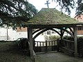 The lych gate at St Michael, Onibury - geograph.org.uk - 1443174.jpg