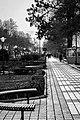 The sidewalk around the Lahijan lake.jpg