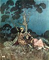 The sleeping beauty and other fairy tales - color plate facing page 117.jpg
