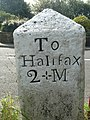 The third face of the old milestone, Norland - geograph.org.uk - 986935.jpg
