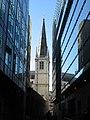 The tower of St. Margaret Pattens, Eastcheap, EC3 - geograph.org.uk - 1109868.jpg