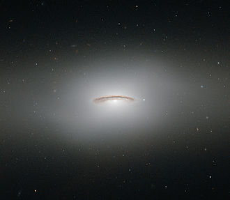 NGC 4526 - Image: The whirling disc of NGC 4526