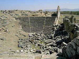 Aizanoi - Theatre-stadium complex